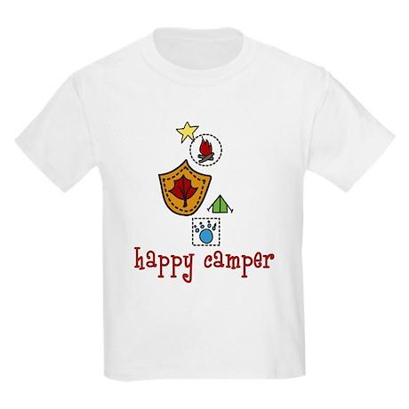 Happy Camper Kids Light T-Shirt