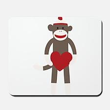 Valentine Monkey Mousepad