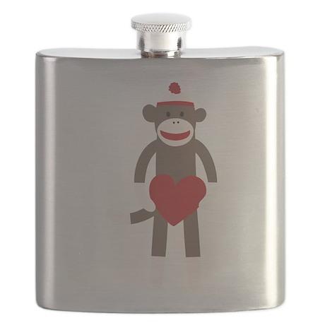 Valentine Monkey Flask