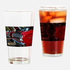 Red Birds Drinking Glass