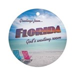Florida - Ornament (Round)