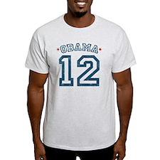 Obama '12 Distressed T-Shirt