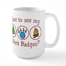 Merit Badges Ceramic Mugs