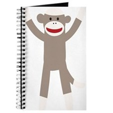 Excited Sock Monkey Journal