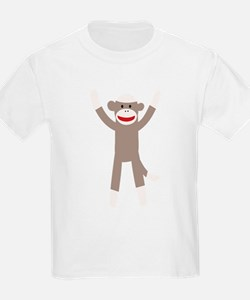 Excited Sock Monkey T-Shirt
