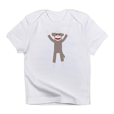 Excited Sock Monkey Infant T-Shirt