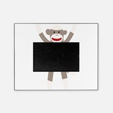 Excited Sock Monkey Picture Frame
