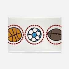 Sports Rectangle Magnet