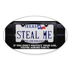 Steal Me Bumper Stickers