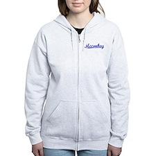 Mcconkey, Blue, Aged Zipped Hoody