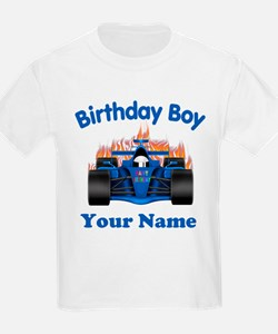 Birthday Boy Car T-Shirt