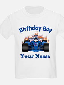 Birthday Boy Car T-Shirt
