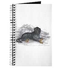 Mastiff Dog Journal