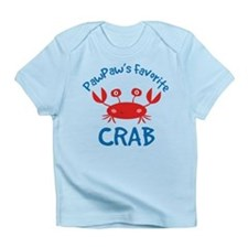 Paw Paw's Favorite Crab Infant T-Shirt