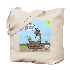 Rattlesnake Popularity Tote Bag