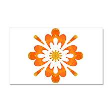 Rapture Wow Flower Car Magnet 20 x 12