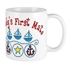 Daddys First Mate Mug