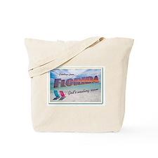 Florida God's Waiting Room - Beach Tote Bag