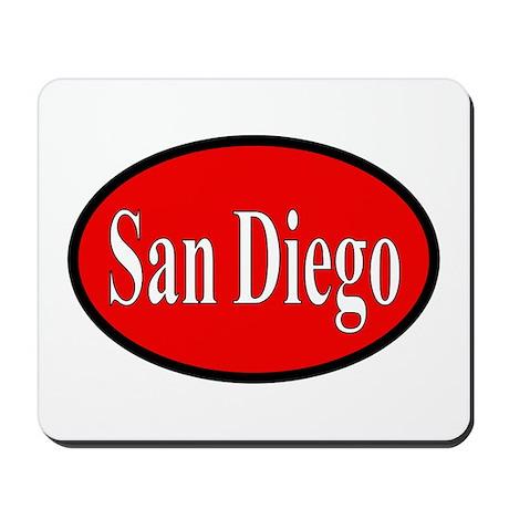 San Diego Mousepad