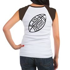 BIG DADDY XXL FOOTBALL Women's Cap Sleeve T-Shirt