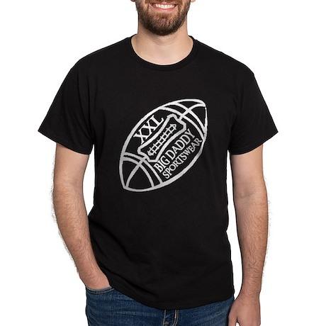 BIG DADDY XXL FOOTBALL Black T-Shirt