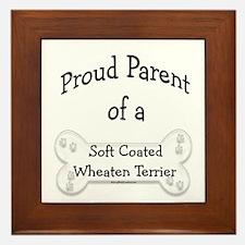 Wheaten Proud Parent  Framed Tile
