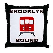 Brooklyn Bound Throw Pillow