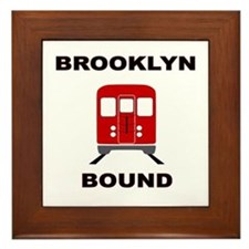 Brooklyn Bound Framed Tile