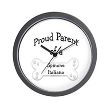 Proud Parent of a Spinone Italiano Wall Clock