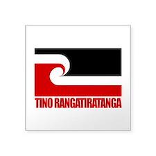 Maori Flag (Tino Rangatiratanga).png Square Sticke