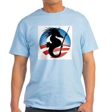 'Seahorse and Bayonet' Light T-Shirt