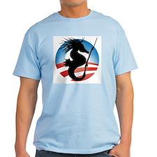 'Seahorse and Bayonet' T-Shirt