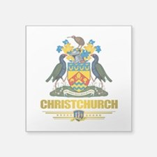 "Christchurch (Flag 10) 2.png Square Sticker 3"" x 3"