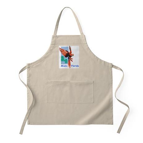 Miami Macaw BBQ Apron