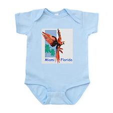 Miami Macaw Infant Creeper