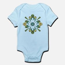 Abundance Wow Flower Infant Bodysuit