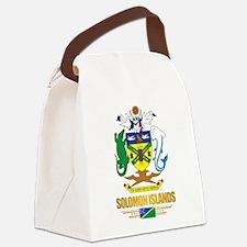Solomon Islands COA (Flag 10)2.png Canvas Lunch Ba