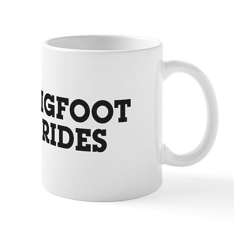 Bigfoot Rides Mug