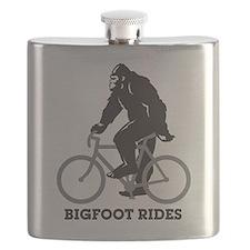 Bigfoot Rides Flask