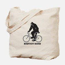 Bigfoot Rides Tote Bag