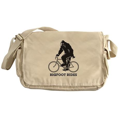 Bigfoot Rides Messenger Bag