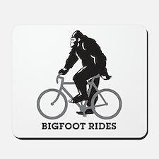 Bigfoot Rides Mousepad