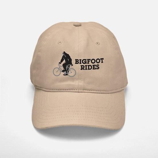 Bigfoot Rides Baseball Baseball Cap