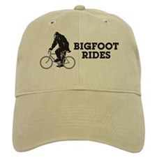 Bigfoot Rides Baseball Cap