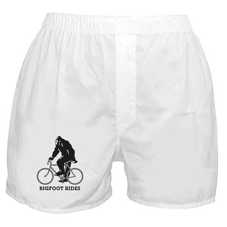 Bigfoot Rides Boxer Shorts