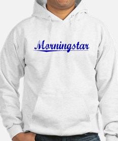 Morningstar, Blue, Aged Hoodie