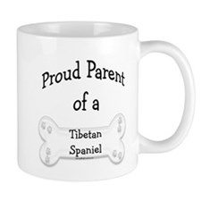 Proud Parent of Tibetan Spaniel Mug