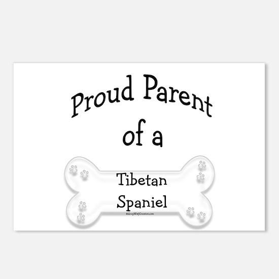 Proud Parent of Tibetan Spaniel Postcards (Package