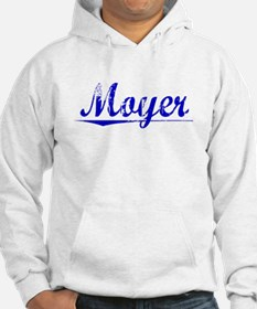 Moyer, Blue, Aged Hoodie