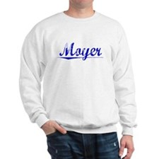 Moyer, Blue, Aged Sweatshirt